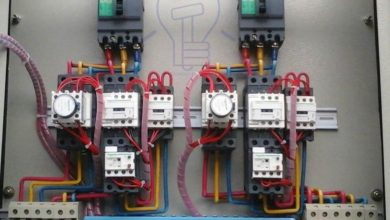 star delta (y Δ) starter for automatic 3 phase motor with timer electrically held contactor wiring diagram wiring diagram single pole contactor with timer #12