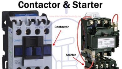 Photo of Main Difference between Contactor and Starter