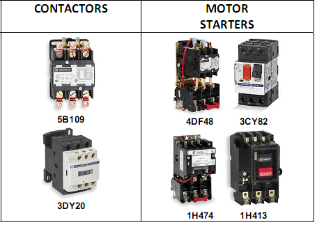 Main Difference between contactor and Starter