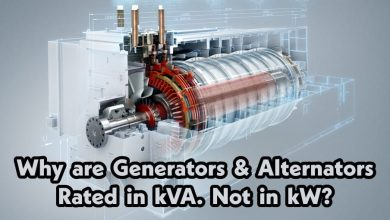 Photo of Why Generator & Alternator rated in kVA. Not in kW?