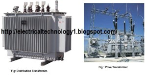 difference between Power Transformers and Distribution Transformers