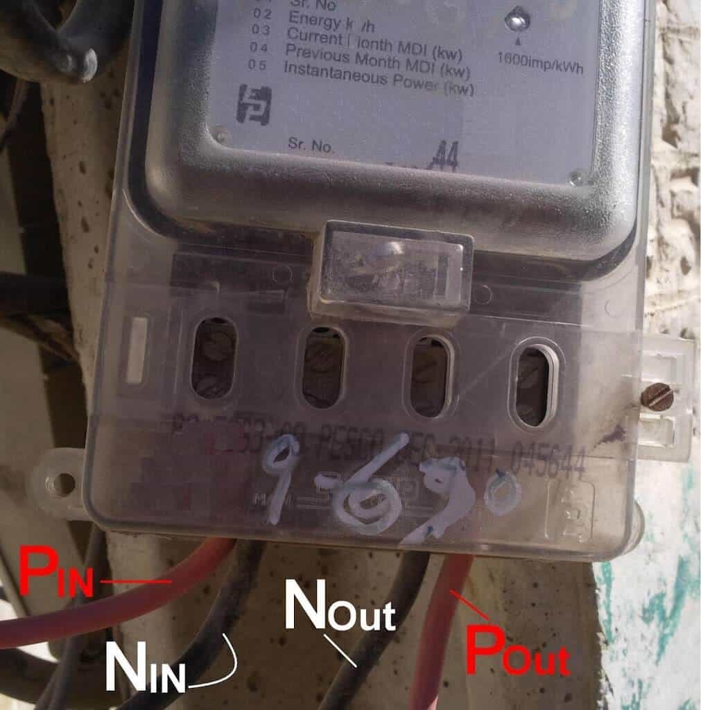 How to wire a single phase kwh meter installation of