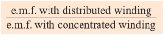 distribution factor