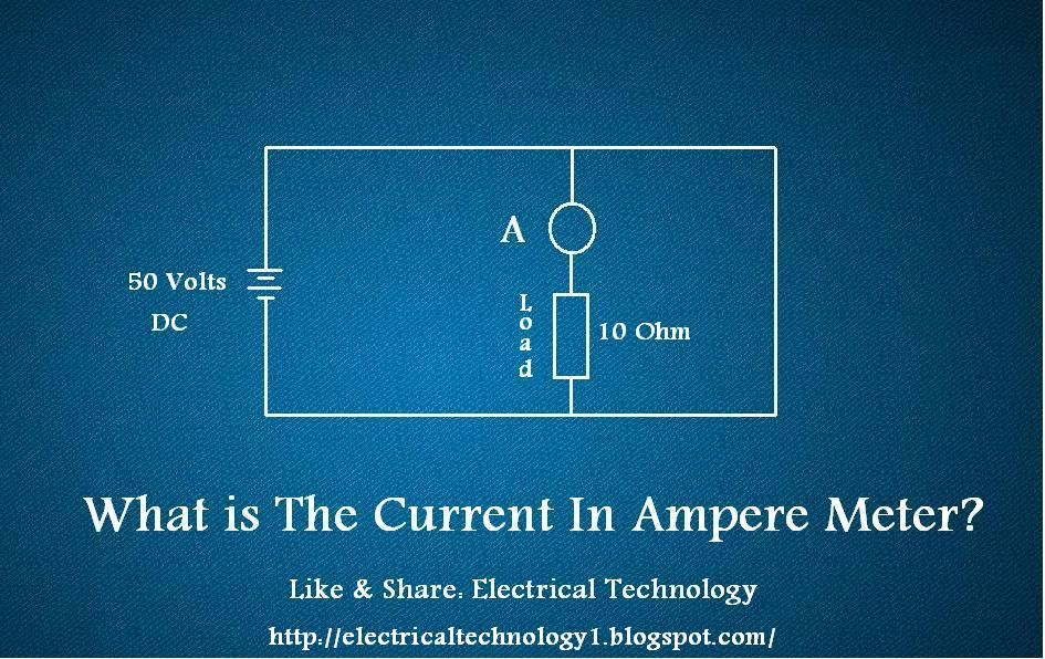 Ammeter Connected in Short Circuit? - Electrical Technology