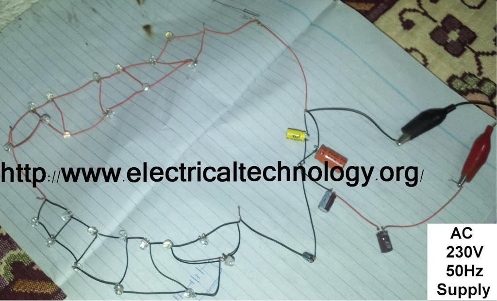 230 V 50Hz AC (or 110V 60Hz) Main Operated LED Powerful NIGHT LAMP ...
