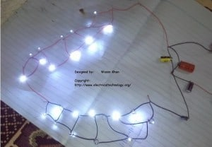 AC Main Operated LEDs lamp without Diodes and Ractifier