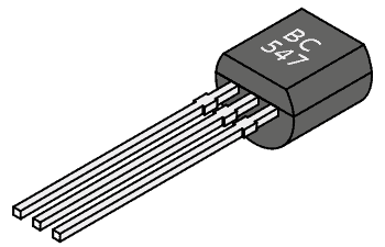 Checking BC 547 NPN Transistor