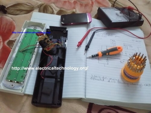 LED Light Project Do it Yourself project