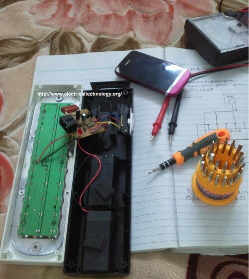 Emergency LED Lights circuit
