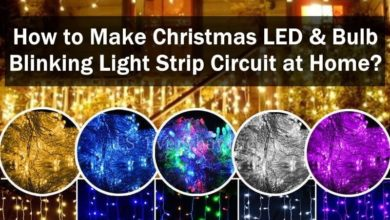 Photo of How to Make Christmas LED & Bulb Blinking Light String Circuit at Home