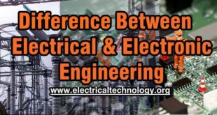 Main Difference Between Electrical and Electronic Engineering