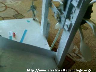 Simple Project on Hydroelectric Power Station with Turbine. (Modal)