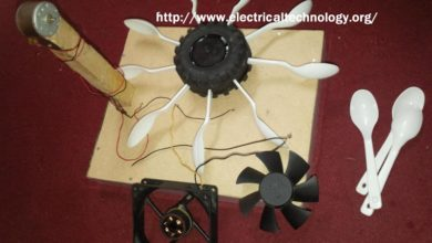 Photo of Simple Project on Hydroelectric Power Station with Turbine. (Modal)