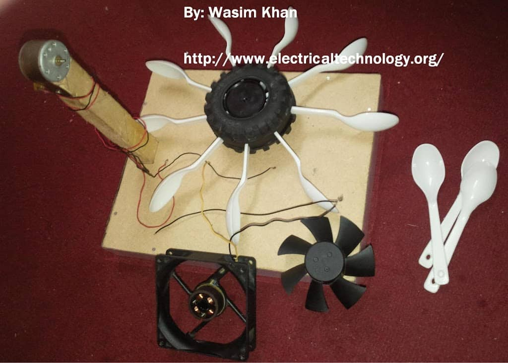 Basic Model of Hydroelectric Power Station with Turbine. (Modal)