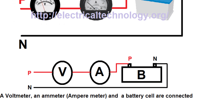 a voltmeter an ammeter ampere meter and a battery cell are a voltmeter an ammeter ampere meter and a battery cell are connected in series it is observed that ammeter practically shows no deflection why