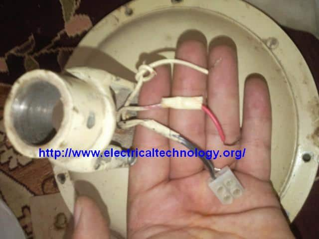 How to connect / Install a Capacitor with a Ceiling Fan