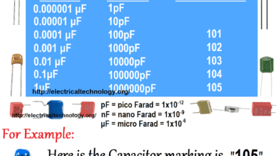 Photo of Capacitor Code: How to Find the value of Ceramic Capacitors?