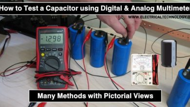 How to Test a Capacitor using Digital and Analog Multimeter