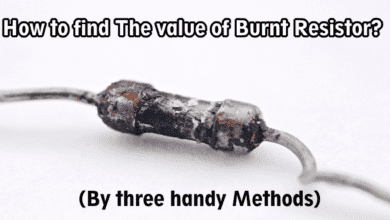 Photo of How to Find the Value of Burnt Resistor ( By Four Handy Methods )