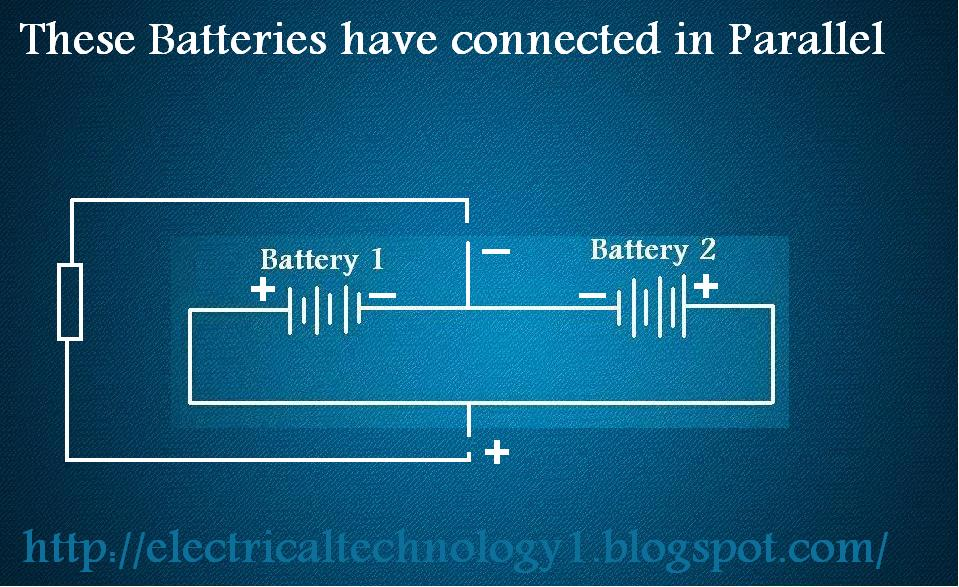 Batteries Configuration. These Batteries have Connected in series or parallel? Clear Your Concept.