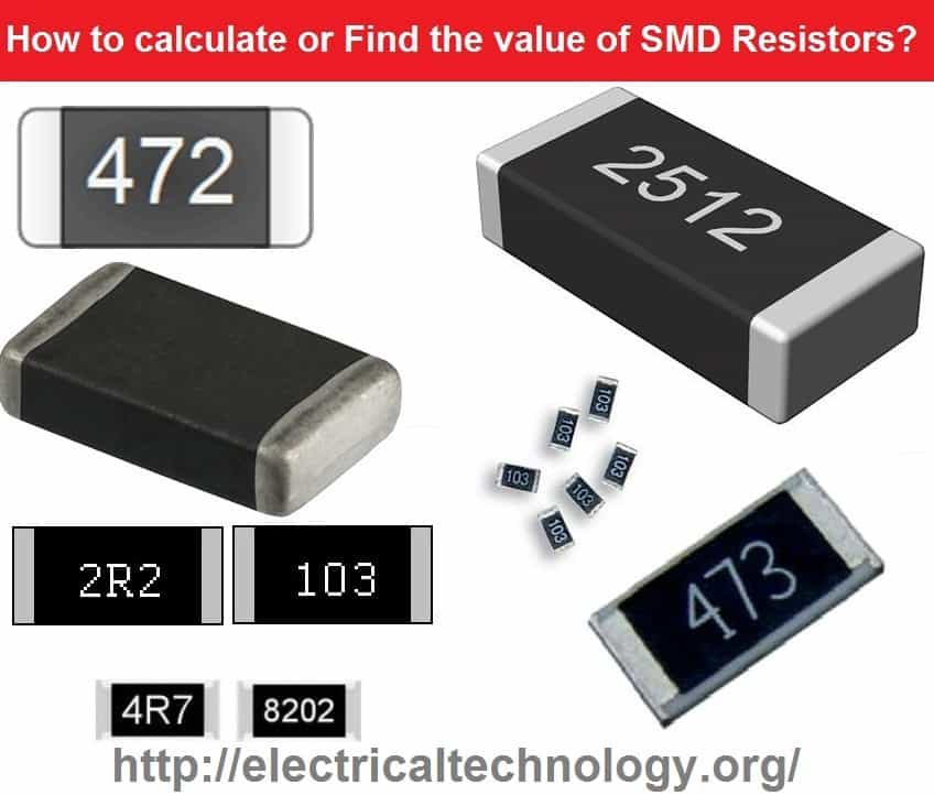 SMD Resistor Codes: How to Find the value of SMD Resistors