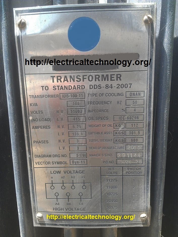 How to Calculate/Find the Rating of Transformer in kVA