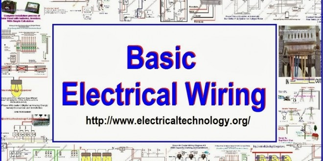 Basic Electrical Wiring Solar panel wiring Batteries wiring UPS wiring Single phase and three pahse wiring Copy 660x330 electrical wiring electrical technology basic electrical wiring diagram at gsmx.co