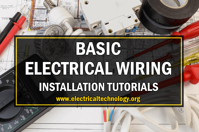 Drawing Simple Basic House Wiring Diagram from www.electricaltechnology.org