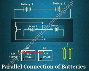 Parallel Connection of Batteries