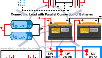 Photo of Batteries Wiring Connections and Diagrams