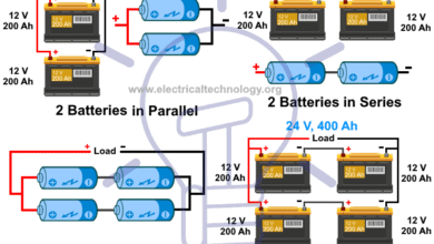 Photo of Series, Parallel and Series-Parallel Connection of Batteries