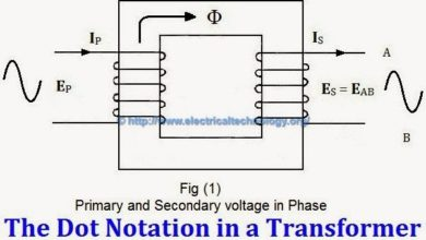 Photo of Transformer Phasing: The Dot Notation and Dot Convention