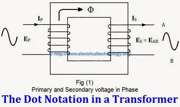transformer phasing the dot notation and dot convention rh electricaltechnology org