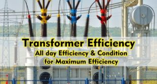 Transformer Efficiency, All day Efficiency & Condition for maximum Efficiency