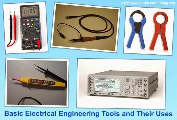 Measuring Electrical Equipments : Basic electrical engineering tools and their uses
