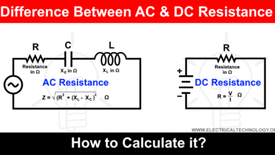 Photo of Difference Between AC and DC Resistance – Which One is More?