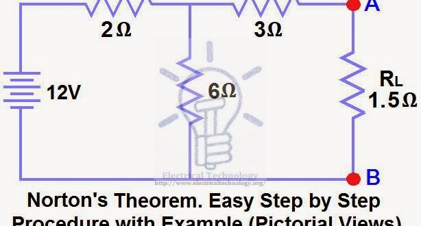 Norton S Theorem Step By Step Procedure With Example