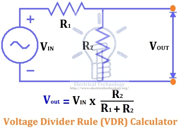 Voltage Divider Rule – Calculator, Examples & Applications