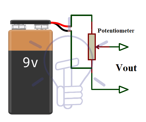 Voltage Divider for Variable Power Supply