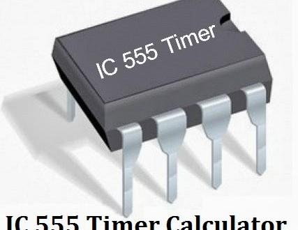 ic 555 timer calculator with formulas  u0026 equations