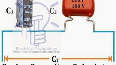 Series-Capacitor-Calculator
