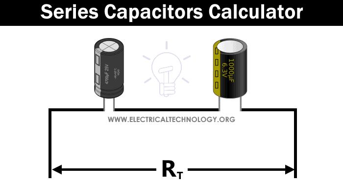 Series Capacitors Calculator