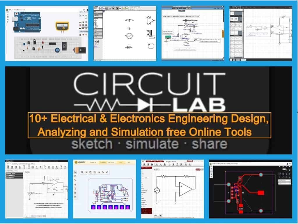 10 Online Design Simulation Tools For Electrical Electronics Three Phase Breaker Wiring Moreover Circuit Panel Engineers