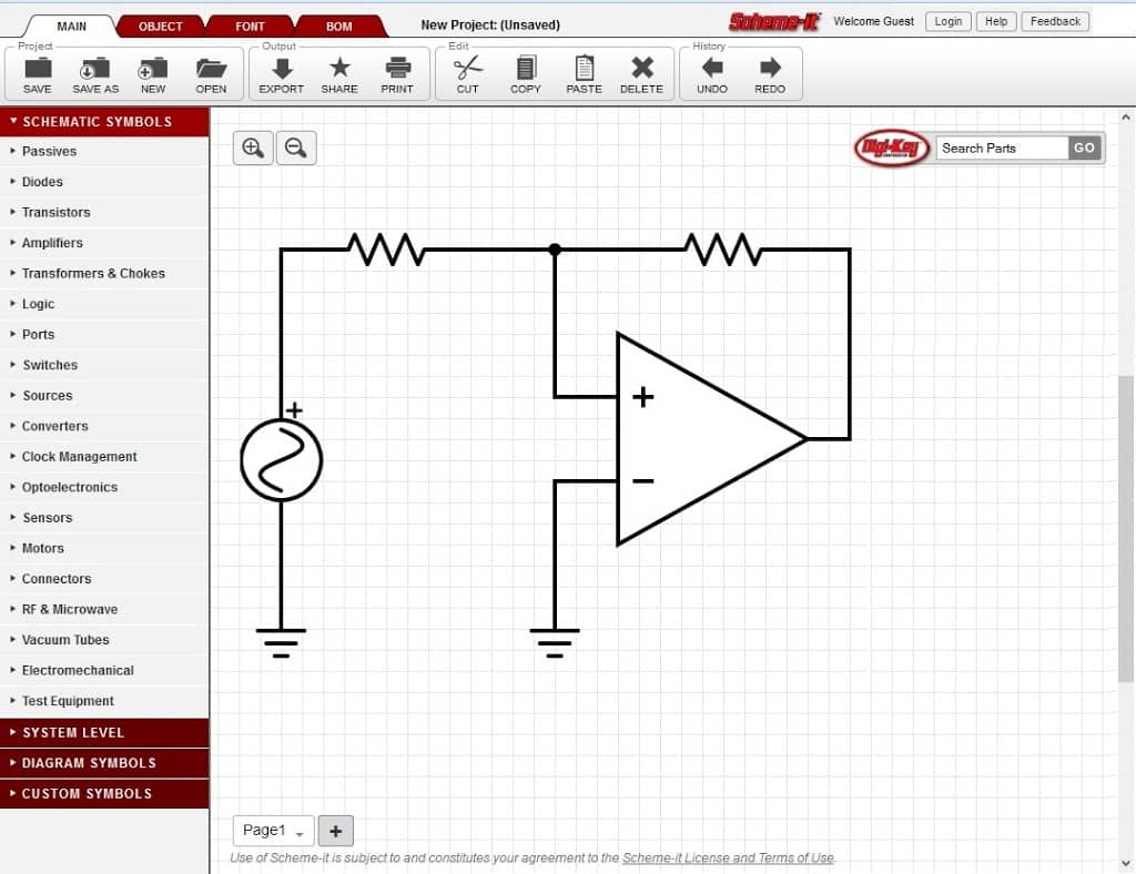 Circuit simulator for Electrical Engineers