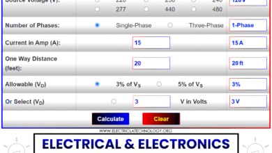 Electrical and Electronics Engineering Calculators