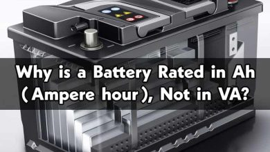 Why Battery Rated in Ah (Ampere hour) Not in VA