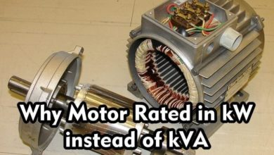 Photo of Why Motor rated in kW instead of kVA?
