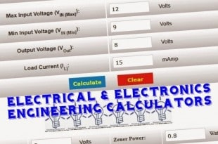 Electrical & Electronics Engineering Calculators Online