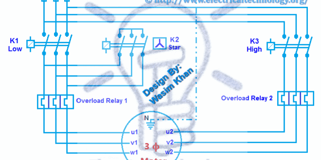 speeds direction phase motor power and control diagrams