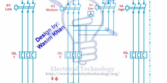 basic current transformer wiring diagram multi speed 3 phase motor  3 speeds  1 direction  power  multi speed 3 phase motor  3 speeds  1 direction  power